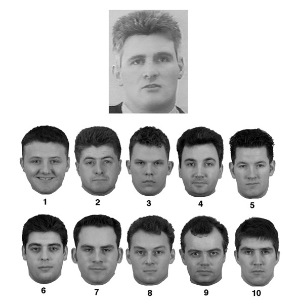 Verification of face identities from images captured on video